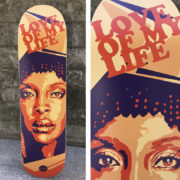 Patin pintado Erykah Badu by Eva Mena_general